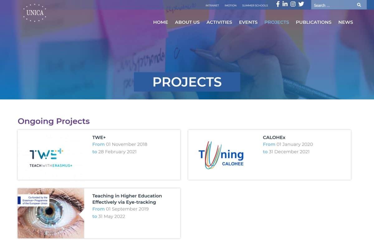 ALYS projet - UNICA