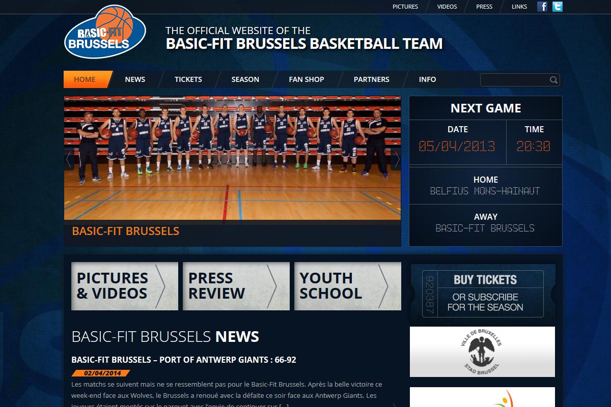ALYS projet - Brussels Basket