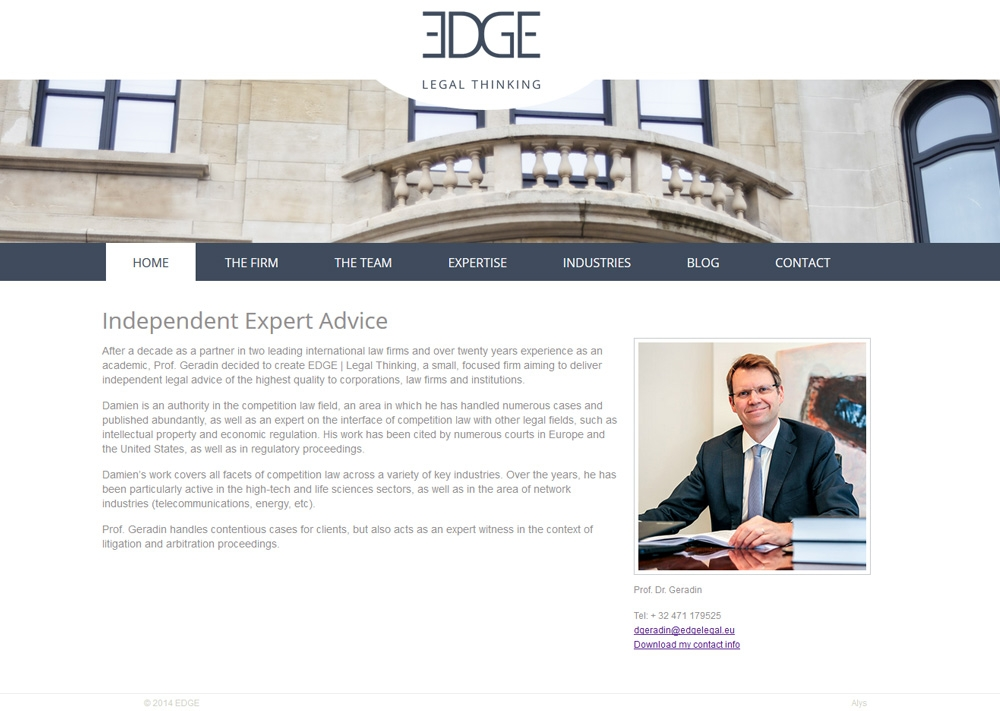 ALYS projet - EDGE Legal