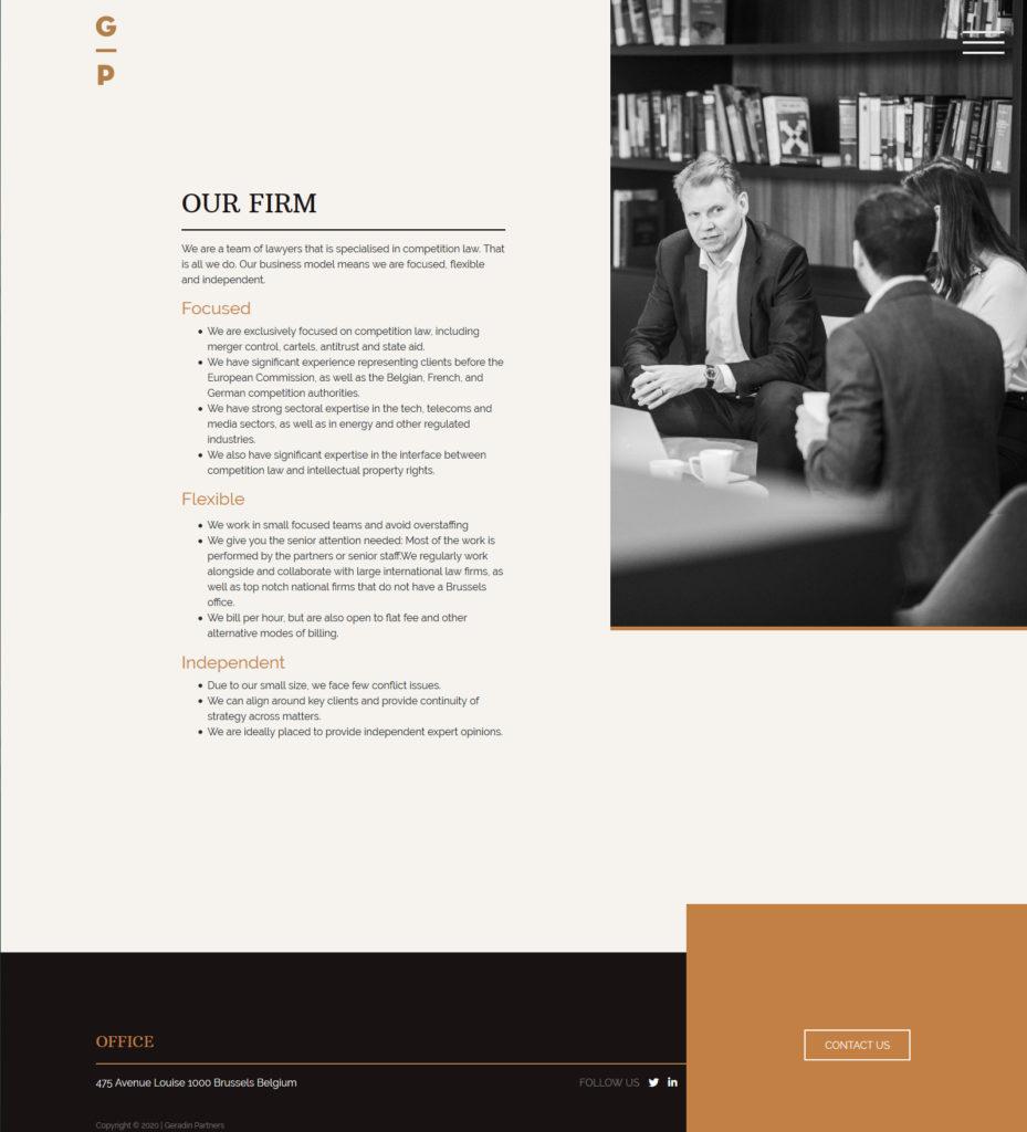 ALYS projet - Geradin Partners