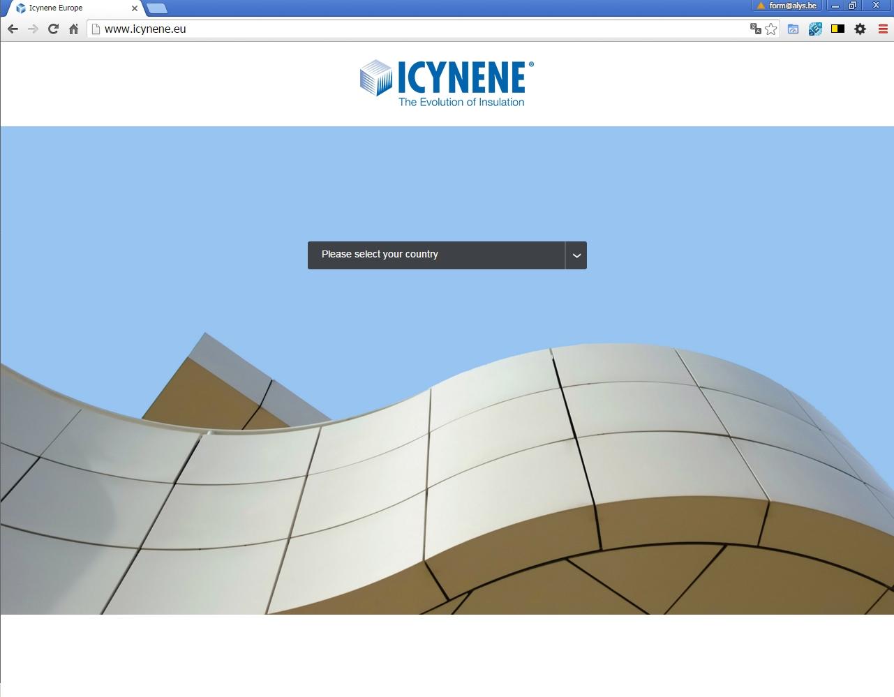 ALYS projet - Icynene