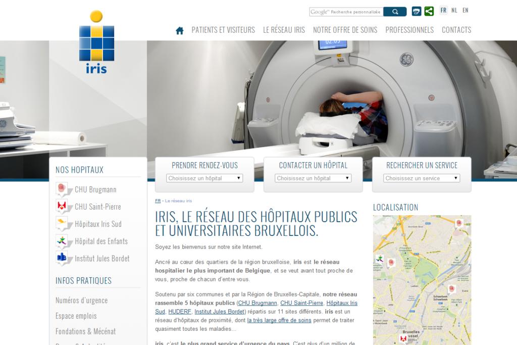 ALYS projet - IRIS hospitals