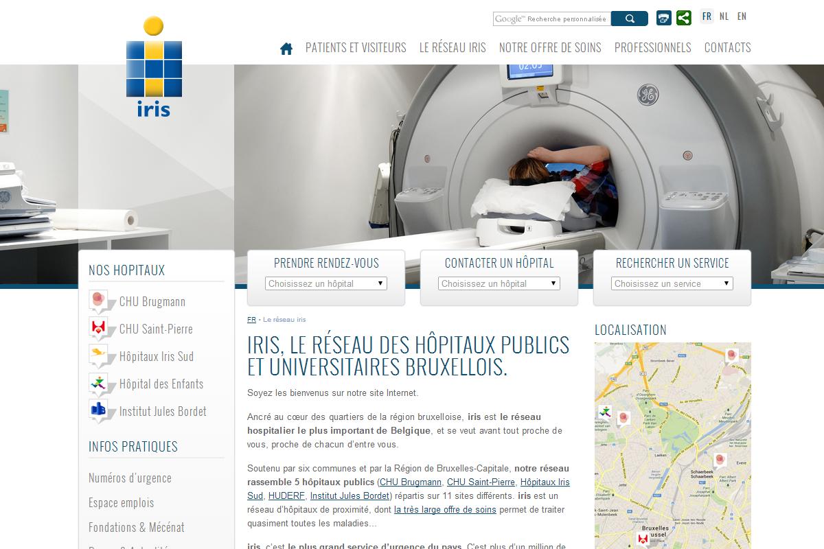 ALYS projet - IRIS Hôpitaux