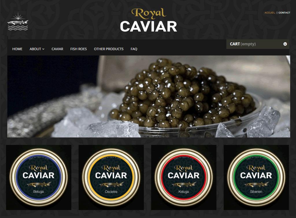 ALYS projet - Royal Caviar