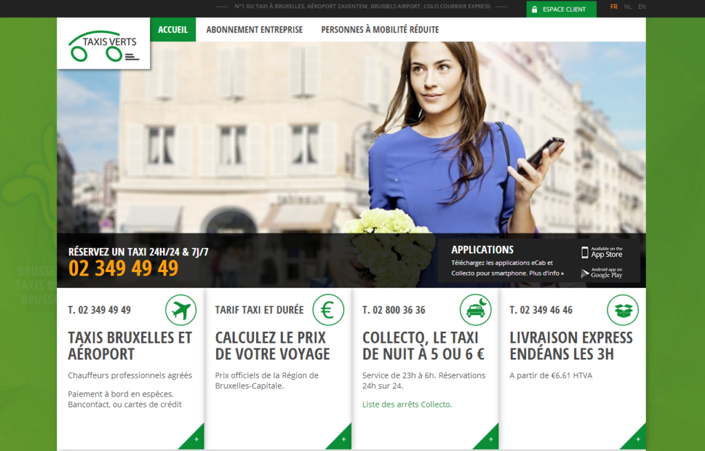 ALYS projet - Taxis Verts