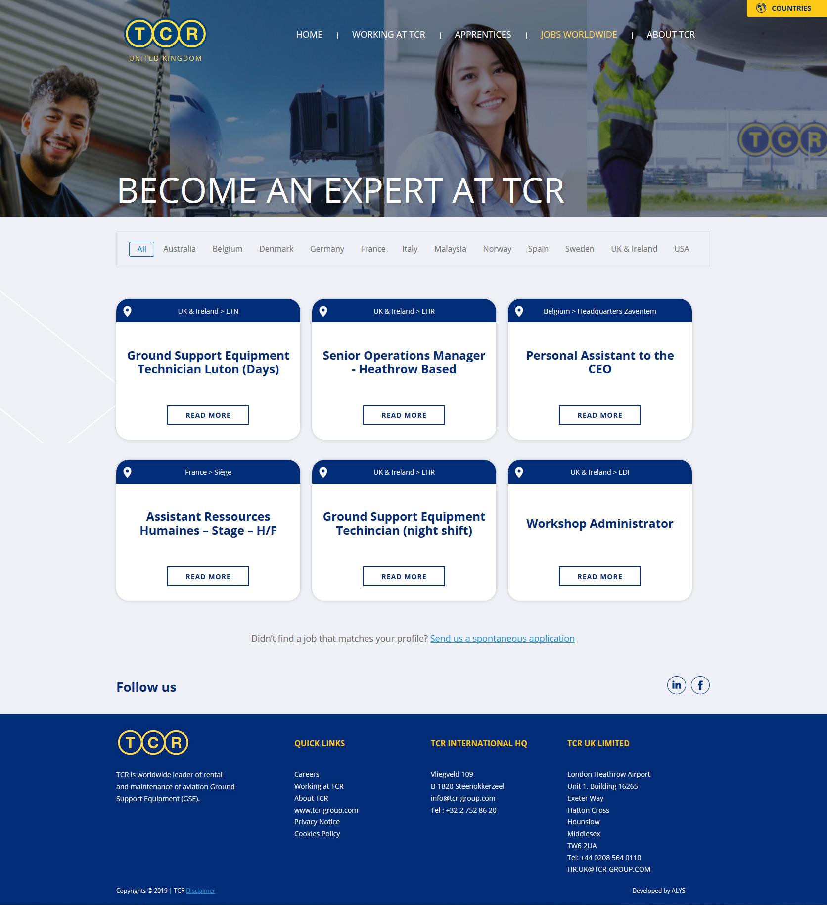 ALYS projet - TCR Group