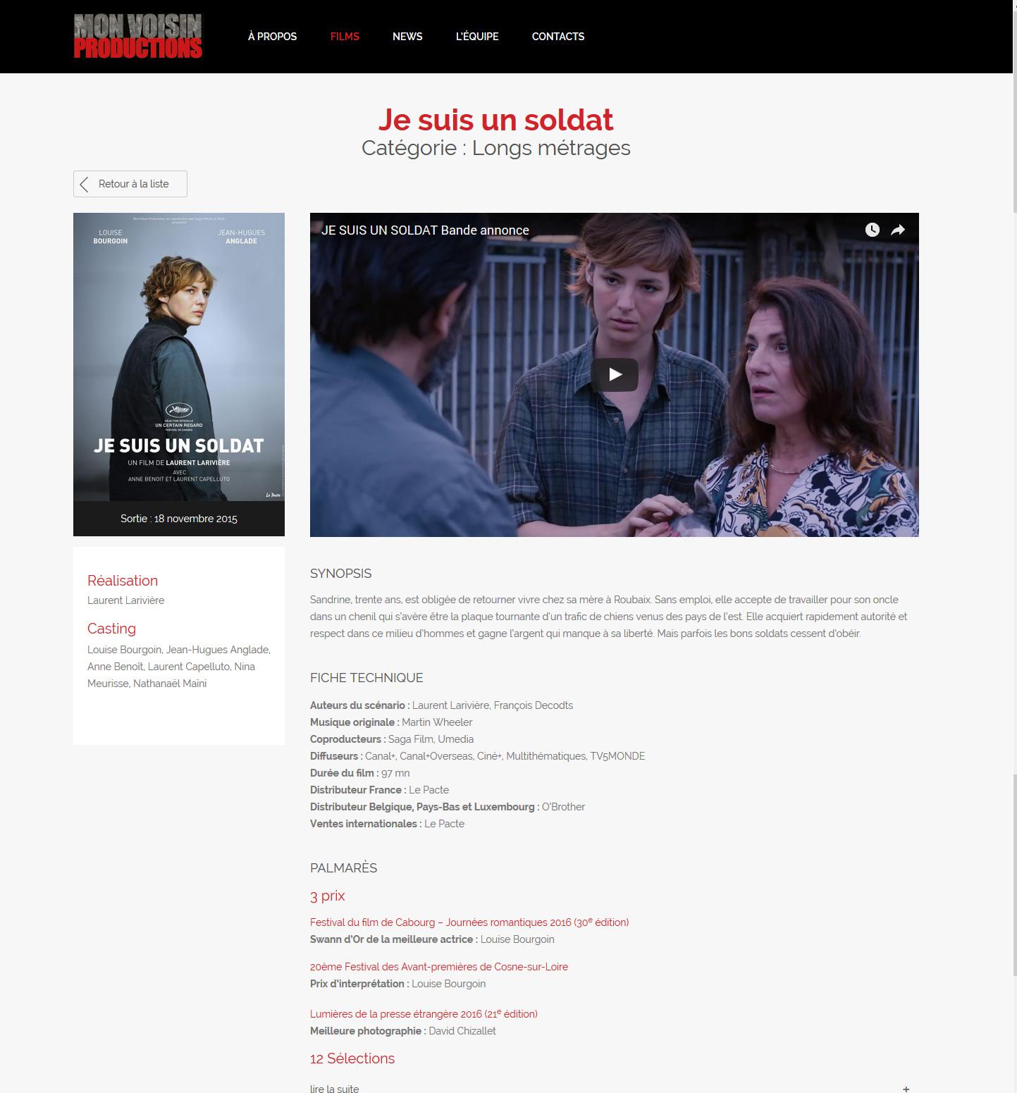 ALYS projet - Mon Voisin Productions